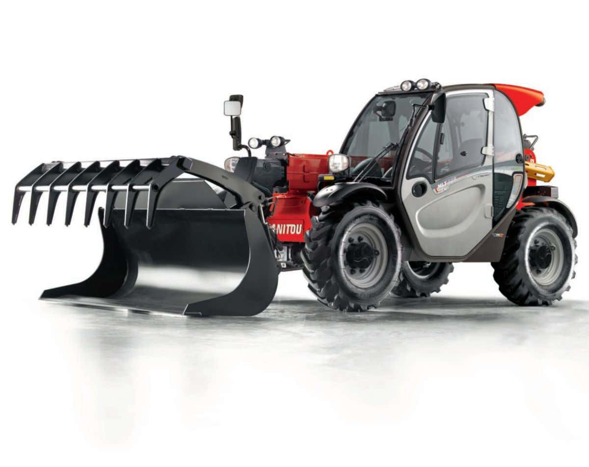AgriculturAl hAndling solution www.manitou.com
