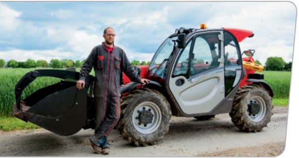 A commitment to fArming MANITOU have been closely associated with agriculture for more than 20 years,