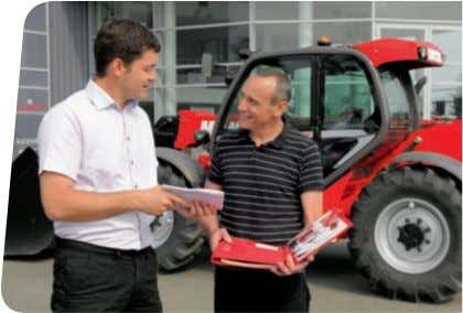 MANITOU dealer has access to a stock of 70,000 part numbers, available in 24 hours in