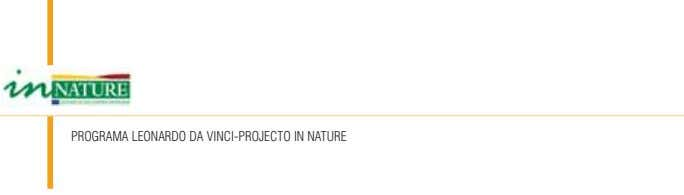 PROGRAMA LEONARDO DA VINCI-PROJECTO IN NATURE