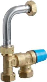Safety valve Shut-off valve (set of four units)