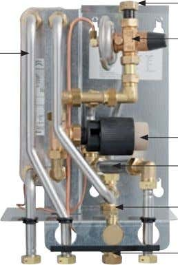 supply 9. Differential pressure regulator RAD supply/return Basic circuit diagram, Micro 4 4 9 1 3