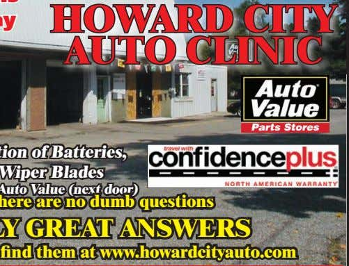 HOWARD CITY AUTO CLINIC Parts Stores