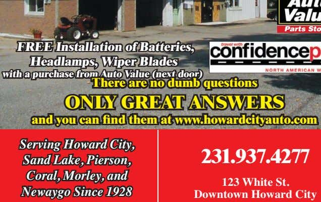 FREE Installation of Batteries, Headlamps, Wiper Blades with a purchase from Auto Value (next door)