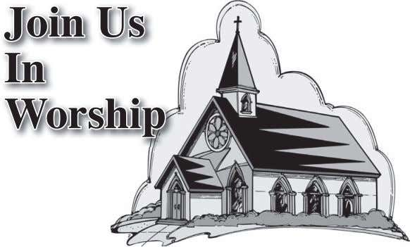 Join Us In Worship