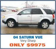04 SATURN VUE Very Sharp ONLY $9975