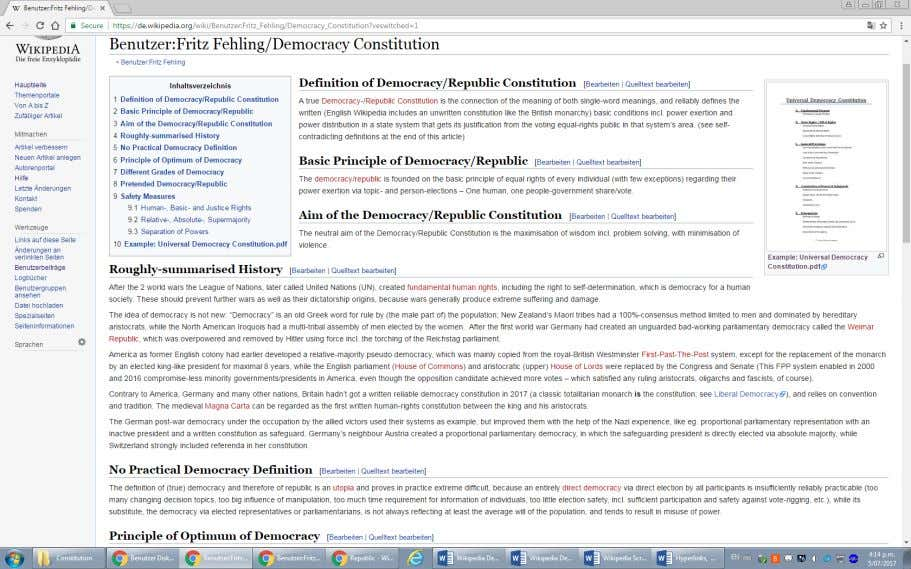 is the original German-Wikipedia design showing the U niversal Democracy Constitution's thumbnail picture top right:)