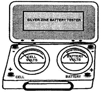 Figure 1-9. High-Rate Discharge Tester. The voltage reading on the item of test equipment illustrated above