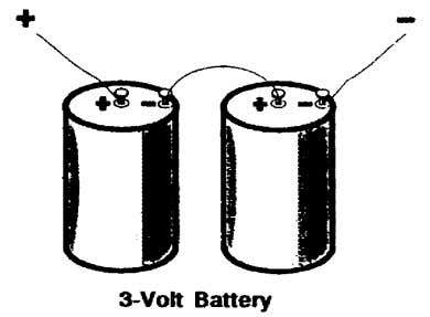 The examples below show how the method of connecting cells to form a battery will determine