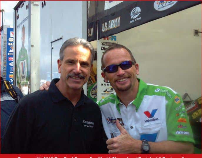 "Horsepower for an Hour Donny with 2012 Top Fuel Funny Car World Champion, ""Fast Jack"" Beckman"""