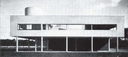 Jr., Fairfax, Virginia, 1975, planta do nível principal. Figura 3 Ville Savoye, Le Corbusier, Poissy, 1929-31.