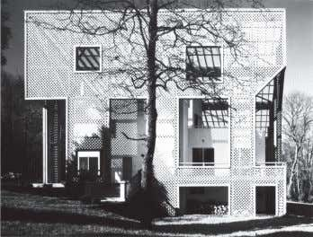 Ville Savoye, Le Corbusier, Poissy, 1929-31. Vista lateral. Figura 5 Casa Zimmerman, William Turnbull Jr., Fairfax,