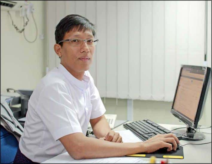 5 KBZ's Senior General Manager Zaw Lin Htut. photo boothee KBZ to launch mobile banking app