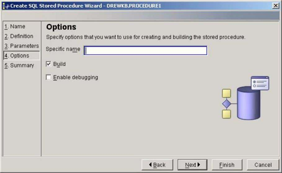 stored procedures is discussed in Creating a procedure .) User-defined routines © Copyright IBM Corporation 1994,
