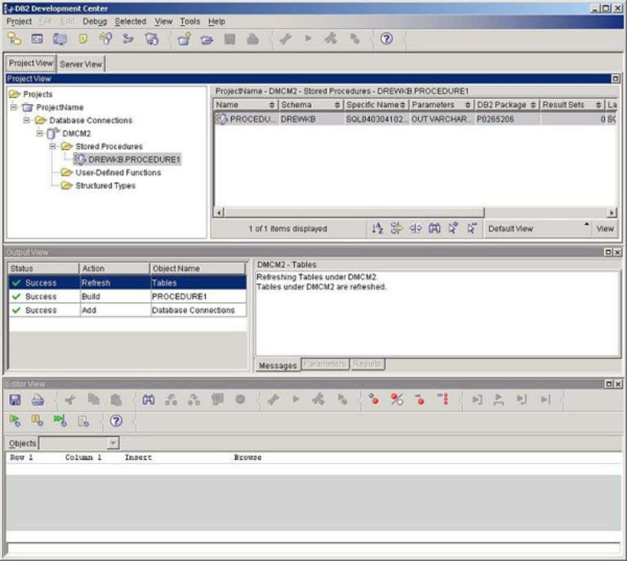 you an overall picture of the Development Center interface. User-defined routines Page 34 of 47 ©