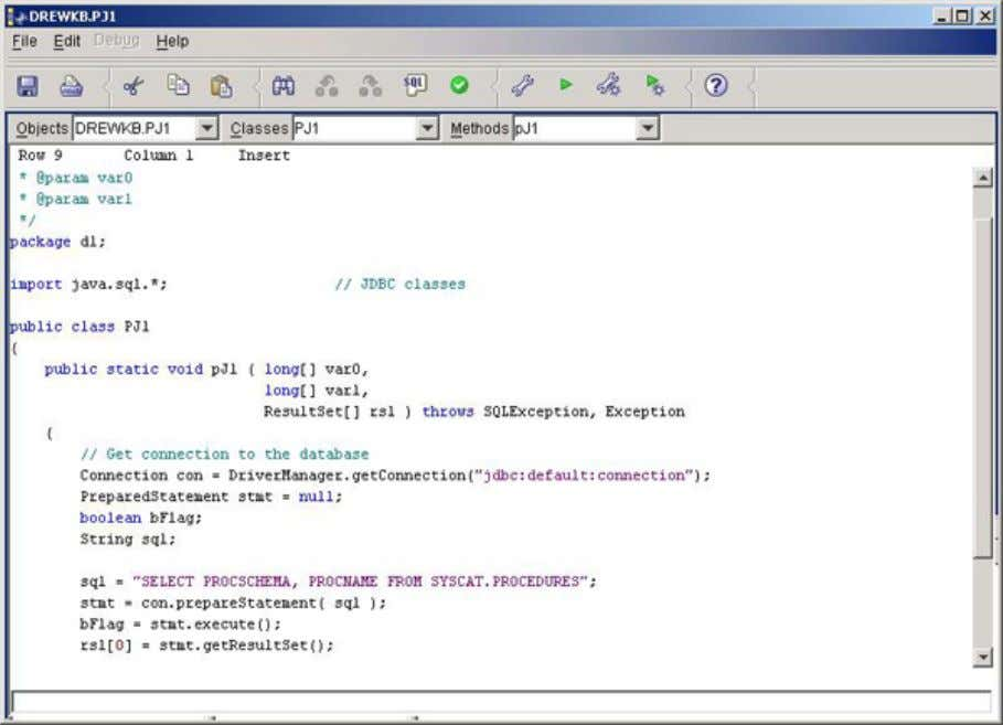 developerWorks® ibm.com/developerWorks A Java procedure can also be run normally as if it were an SQL