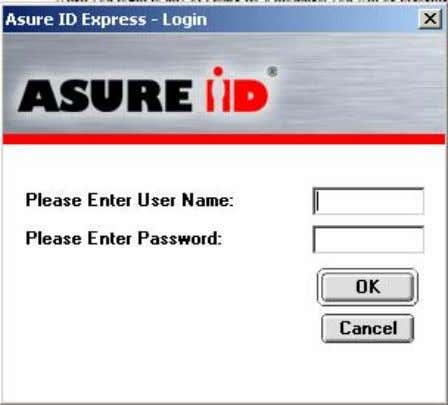 ID's modules, you will be presented with a login box. After a new installation, the only
