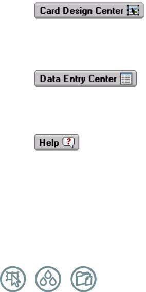 or perhaps asureserver.com). Admin Center Navigation Buttons Card Design Center : Use this button to quickly