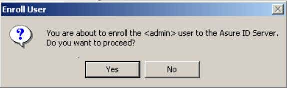 window. The following sequence of dialog boxes will appear: User Contact Information You must enter the