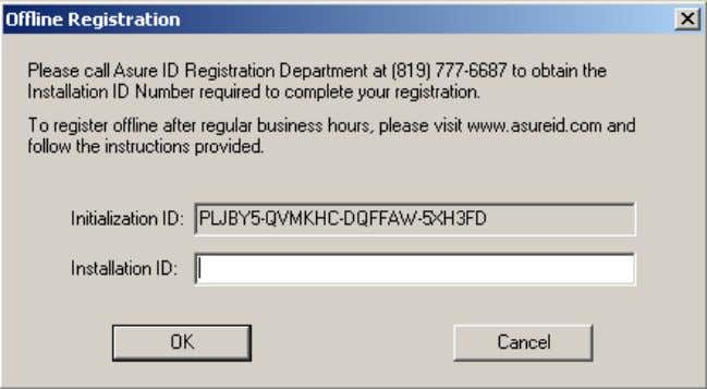 "Start Menu, in the ""Programs -> Asure ID…"" folder. Web Registration If you are unable to"