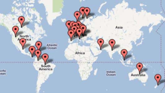 SecurityTube.net Students in 65+ Countries ©SecurityTube.net