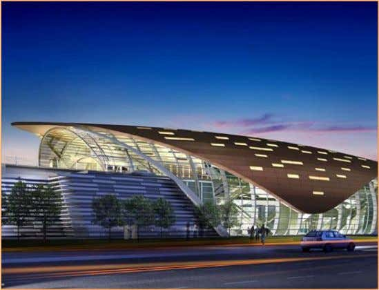 Figure 3 Metro Terminal in Dubai. Metro Workshops: Two workshops will be constructed for maintenance