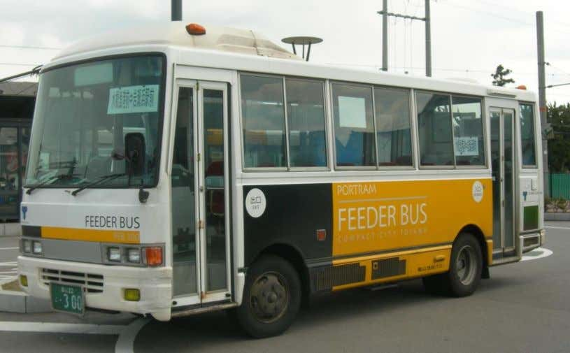 Figure 10 Type of feeder buses. Characteristics: BRT systems generally have the following characteristics, where