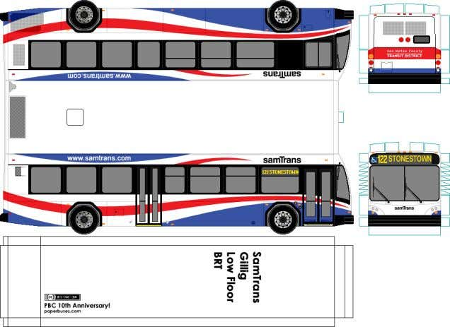 Figure 14 low-floor BRT buses.  Automatic control: With low floor buses there is one