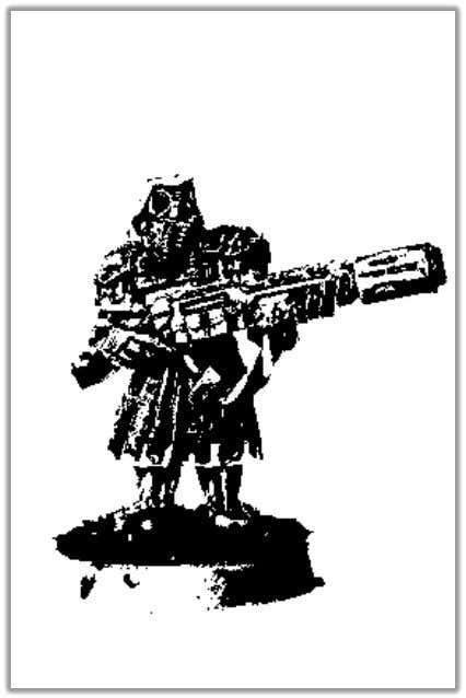 PRAETORIANS Drawn from the Forgeworld planets, often assigned to accompany the Tech-Priests on their missions, Praetorians