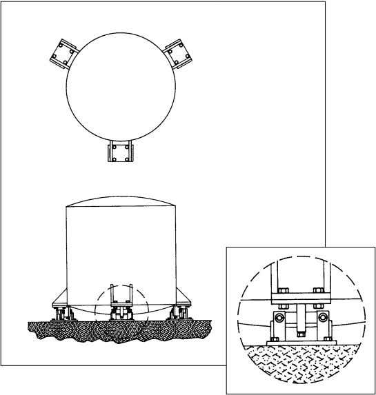See Figure 17— RL1600 Series Tank Weighing Assembly. RL1600 SERIES TANK WEIGHING ASSEMBLY Figure 17 8.1.6