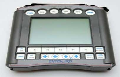 data PAC 1500 is a fully featured portable data collector. Figure 4: DATA PAC 1500 Supported