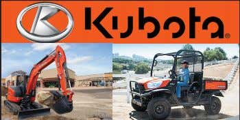 KX040-4 Compact Excavator • 40.4 HP* Kubuto Diesel Engine • Optional Hydraulic 6-in-1 Blade •
