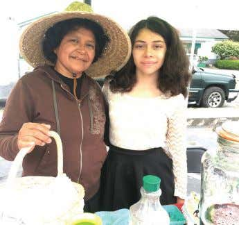 Market will take place on Sunday, July 29 TRINIDAD B2 TAMALES AND MORE Alba López, left,