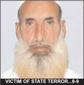 VICTIM OF STATE TERROR 8-9