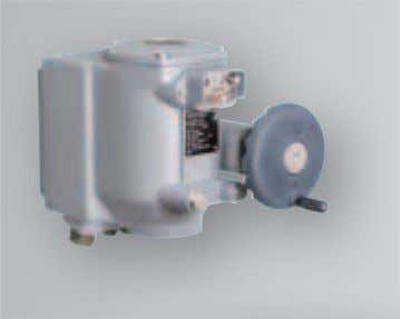 [3] [3] Part-turn actuator SGC are always equip- ped with integral controls. The controls are integrated