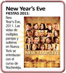 New Year's Eve FIESTAS 2011: New Year's Eve, 2011. Las vidas de múltiples parejas y