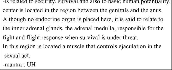 survival is under threat. In this region is located a muscle that controls ejaculation in the