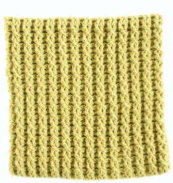 Blanket, is author of Crochet in Color (Interweave, 2009). Double Twist Drew Emborsky FINISHED SIZE 12""