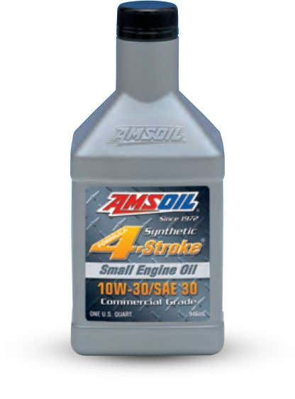 ASE Formula 4-Stroke Synthetic Small Engine Oil Provides superior protection in the hot-temperature, severe-service operating conditions