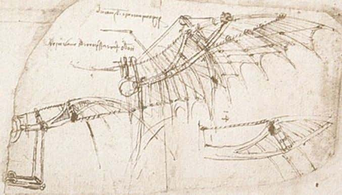 Leonardo's most fantastic – and forward looking – endeavour was his attempt to construct a
