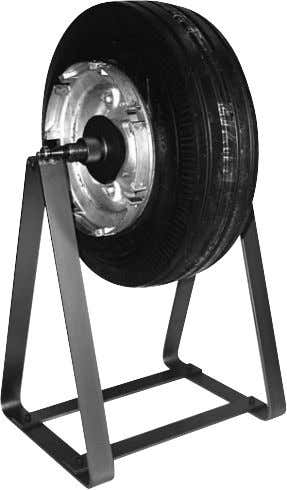 AIRCRAFT TIRE/WHEEL BALANCER FOR GENERAL AVIATION OPERATION Balancing instructions for this tire/wheel balancer can be