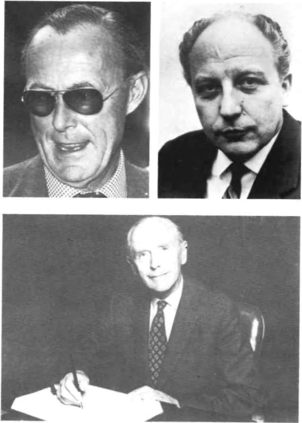 Above left: Prince Bernhard of the Netherlands, Chairman of Bilderberg from 1954 until 1976 (Popper