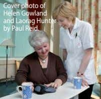 Cover photo of Helen Gowland and Laorag Hunter by Paul Reid.