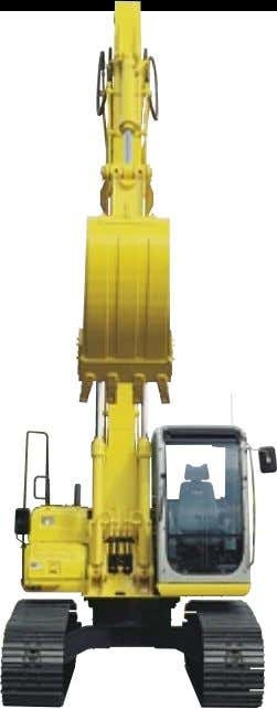"2"" (2.50) *Excludes height of grouser bar. SK160 LC HYDRAULIC SYSTEM Pump 2 variable displacement WEIGHTS"