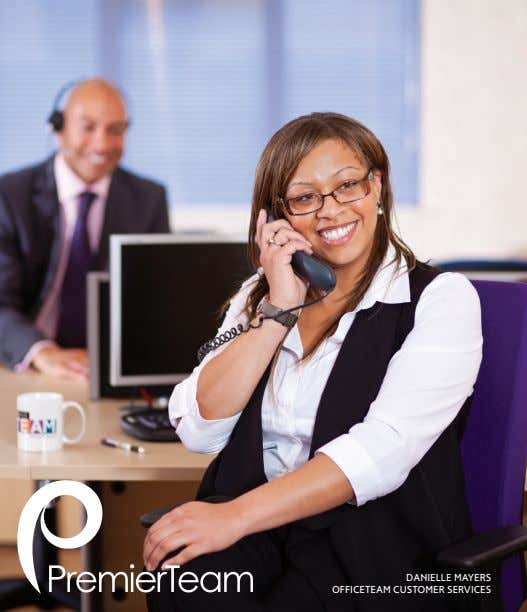 DANIELLE MAYERS OFFICETEAM CUSTOMER SERVICES