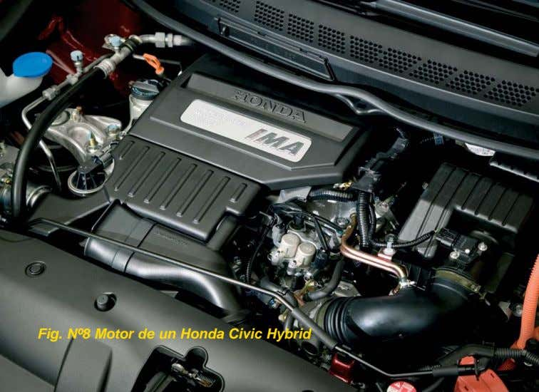 Fig. Nº8 Motor de un Honda Civic Hybrid