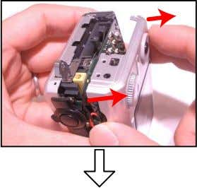5. Remove the REAR PANEL ASSY. Hook 6. Remove the DIAL UNIT, KEY/REC, KEY/CS, and FINDER