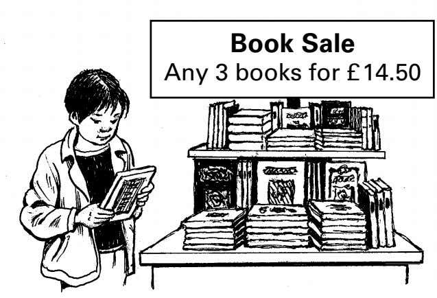 Book Sale Any 3 books for £14.50