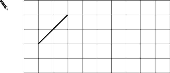 grid. 24 1 mark Draw 3 more lines to make a parallelogram with an area of