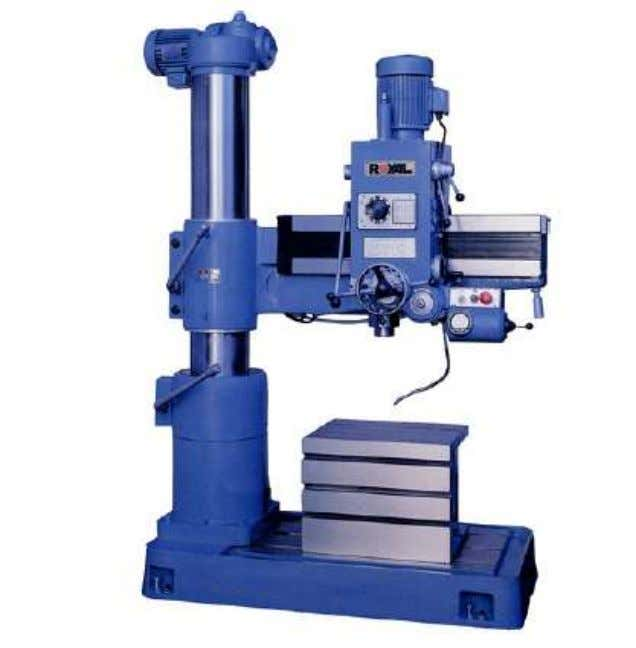 Fig Radial Drilling Machine 5